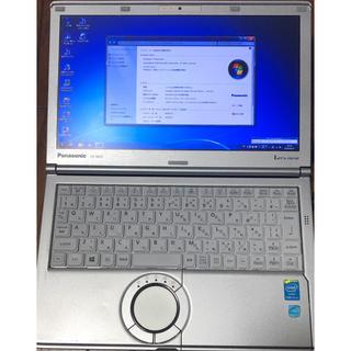 パナソニック(Panasonic)の超美品 Panasonic LET'S note CF-NX3 Core i5(ノートPC)