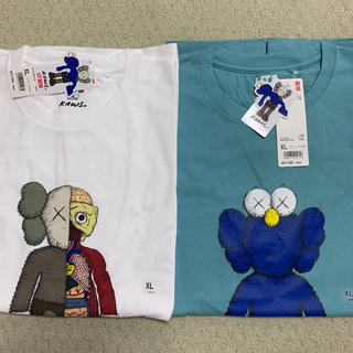 UNIQLO - 【新品未使用】カウズ コラボTシャツ 2枚セット
