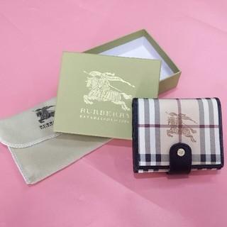 バーバリー(BURBERRY)のBURBERRYバーバリー 三つ折りたたみ財布 メンズ (折り財布)