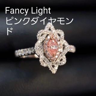 新作♡Fancy Lightピンクダイヤモンドリング(リング(指輪))