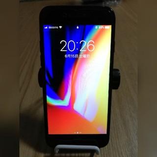 iPhone - iphone7 128GB simフリー 液晶&電池新品 ジェットブラック
