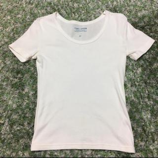 ドアーズ(DOORS / URBAN RESEARCH)のアーバンリサーチ 購入 白Tシャツ FORK&SPOON フォークアンドスプーン(Tシャツ(半袖/袖なし))