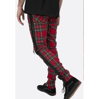 フィアオブゴッド(FEAR OF GOD)のmnml plaid track pants red XS(その他)