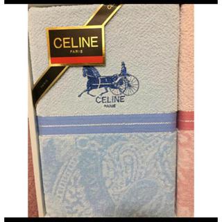 セリーヌ(celine)のセリーヌ タオルケット 新品(毛布)