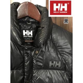 ヘリーハンセン(HELLY HANSEN)のダウンジャケット 半袖  ヘリーハンセン 黒 メンズ XL (ダウンジャケット)