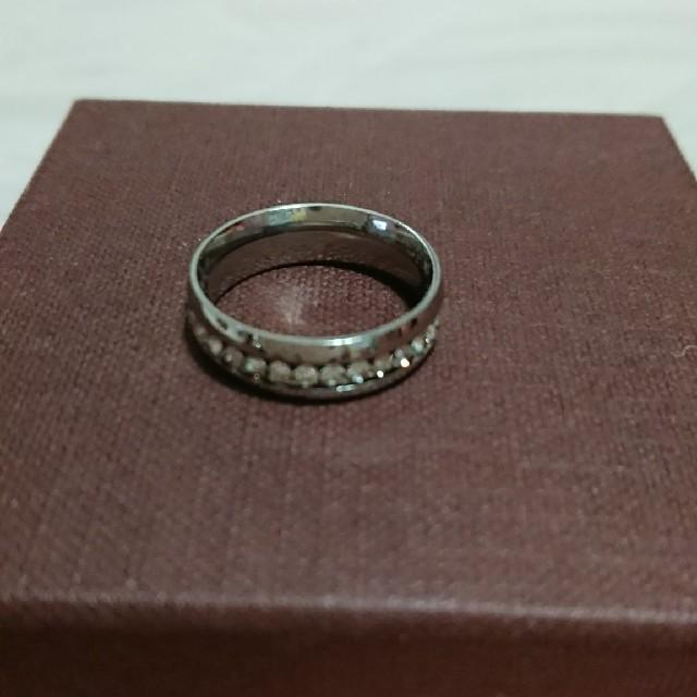 フルエタニティ―チタンリング メンズのアクセサリー(リング(指輪))の商品写真