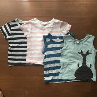 ムジルシリョウヒン(MUJI (無印良品))の無印良品 Tシャツ タンクトップ 80cm(Tシャツ)