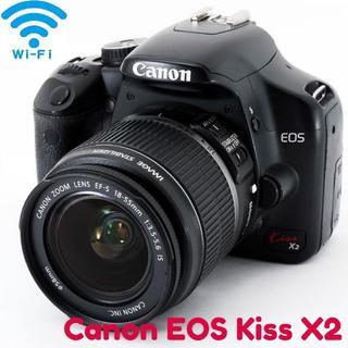Canon - ☆一眼レフ★Wi-Fi SDカード付き★Canon kiss x2☆