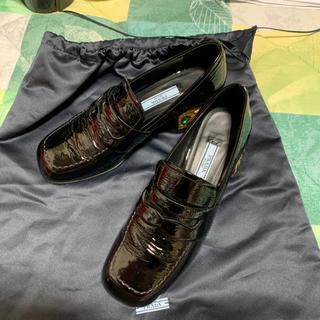 プラダ(PRADA)のPRADA のローファー 34(ローファー/革靴)