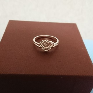 蓮の花のリング(リング(指輪))