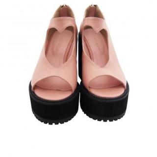 Honey mi Honey - ハミーミーハニー ハート形 ピンク 靴