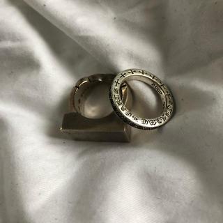 【クロムハーツ フレアニーバー スペーサー リング】(リング(指輪))