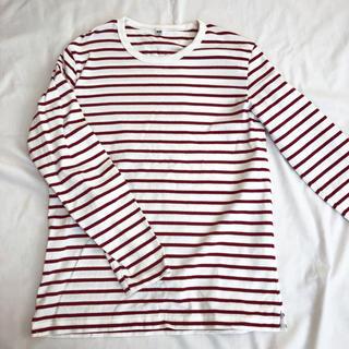 ユニクロ(UNIQLO)の🔷🔷ユニクロ🔷🔷メンズ🔷ボーダーカットソー(Tシャツ/カットソー(七分/長袖))