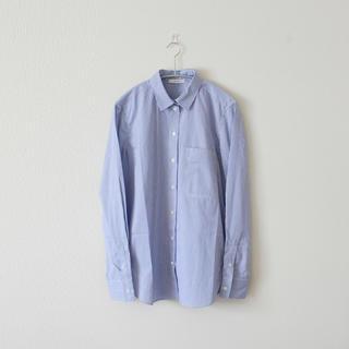 セリーヌ(celine)のCELINE/セリーヌ/16SS/ブルーストライプコットンシャツ(シャツ/ブラウス(長袖/七分))