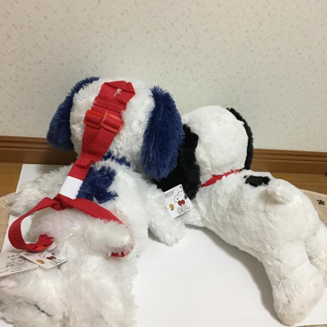 SNOOPY(スヌーピー)のスヌーピー ぬいぐるみ セット エンタメ/ホビーのおもちゃ/ぬいぐるみ(ぬいぐるみ)の商品写真