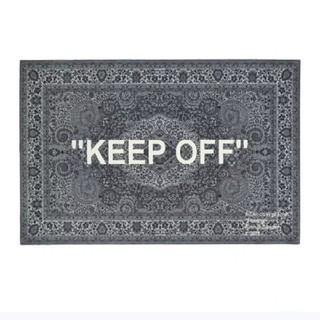 """イケア(IKEA)の新品☆IKEA × Virgil Abloh """"KEEP OFF ラグマット(ラグ)"""
