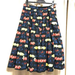 JaneMarple - 6/17まで☆ロゴ&フルーツスカート