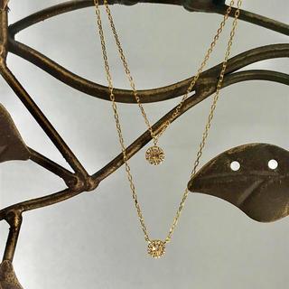 アガット(agete)のベルシオラ  ダイヤネックレス ブレスレット セット(ネックレス)