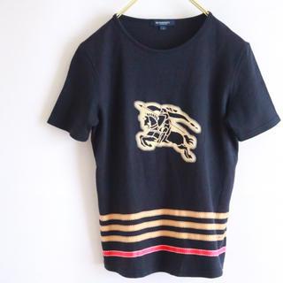バーバリー(BURBERRY)の【BURBERRY】半袖カットソー Tシャツ☆(Tシャツ(半袖/袖なし))