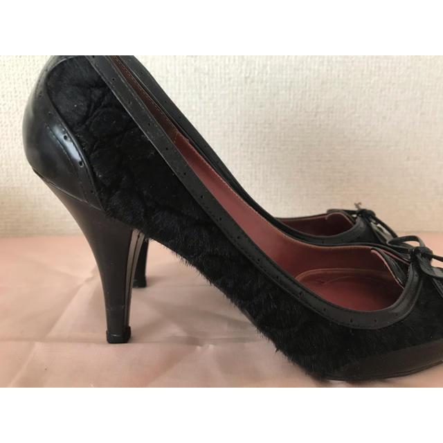 GINZA Kanematsu(ギンザカネマツ)の21.5cm、 8cm ヒールパンプス レディースの靴/シューズ(ハイヒール/パンプス)の商品写真