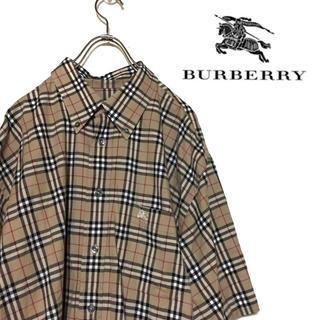 Burberry ノバチェック チェックシャツ