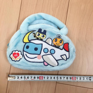 ジャル(ニホンコウクウ)(JAL(日本航空))のたまごっち⭐️ふわふわバッグ⭐️JAL搭乗記念品♪(ノベルティグッズ)