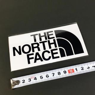 ザノースフェイス(THE NORTH FACE)のノースフェイス ステッカー  1点 ☆ ブラック 人気!。(その他)