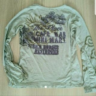 リプレイ(Replay)のREPLAY リプレイ デザインロングカットソー プリント(Tシャツ(長袖/七分))