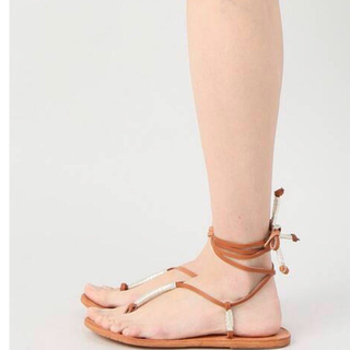 APSTUDIO  BEEK Lace Up Sandal サイズ37 未使用