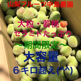 ⭐️もぎたて新鮮・大粒若桃〜期間限定〜山梨県産⭐️