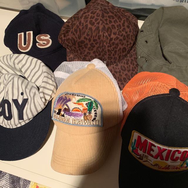 TODAYFUL(トゥデイフル)のキャップ6点 レディースの帽子(キャップ)の商品写真