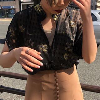 mame - 新品未使用 19SS mame kurogouchi コレクションシャツ