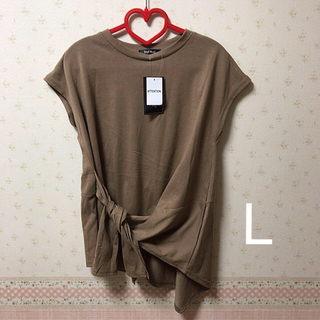 シマムラ(しまむら)のしまむら プチプラのあや ノットテクアシメT(Tシャツ(半袖/袖なし))