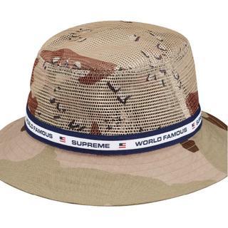 シュプリーム(Supreme)の【未使用】 Supreme Mesh Crown Crusher hat(ハット)