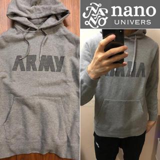 ナノユニバース(nano・universe)のnano universスウェットパーカーメンズ送料込(パーカー)