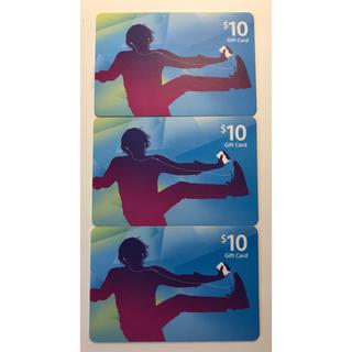 アップル(Apple)のiTunes card (US $10) 3枚(その他)
