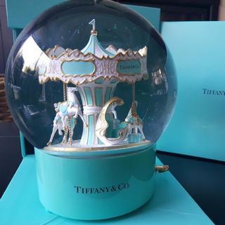 ティファニー(Tiffany & Co.)のティファニースノードーム メリーゴーランド スノードーム 大人気(チャーム)