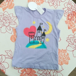シマムラ(しまむら)のTシャツ(女児90cm)新品未使用(Tシャツ/カットソー)