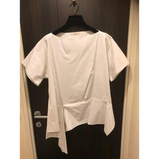 セリーヌ(celine)のレア CELINE セリーヌ フィービー アシンメトリーブラウス(Tシャツ(半袖/袖なし))