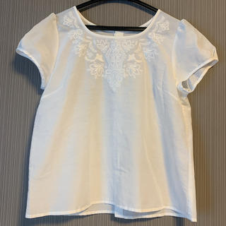 クリアインプレッション(CLEAR IMPRESSION)の超美品 CLEAR impression バックボタンシャツ(シャツ/ブラウス(半袖/袖なし))