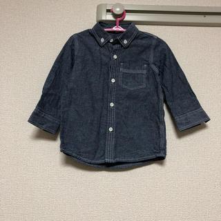 ニシマツヤ(西松屋)のシャツ デニム風 90センチ(その他)