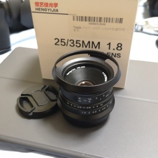富士フイルム - hengyijia 25mm f1.8 富士フィルム Xマウント用