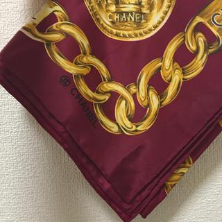 シャネル(CHANEL)の《vintage》CHANEL scarf(バンダナ/スカーフ)