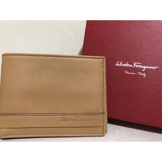 サルヴァトーレフェラガモ(Salvatore Ferragamo)のサルヴァトーレ フェラガモ二つ折り財布 新品!(折り財布)