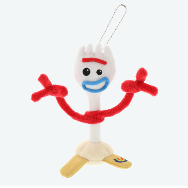 トイ・ストーリー(トイストーリー)のトイストーリー フォーキー ぬいぐるみバッジ ぬいば  ディズニー エンタメ/ホビーのおもちゃ/ぬいぐるみ(ぬいぐるみ)の商品写真