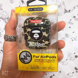 アベイシングエイプ(A BATHING APE)の大人気のAirpodケース^_^ Bape(iPhoneケース)
