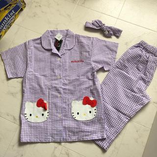 サンリオ - 値下げ!新品 キティちゃんパジャマ 3点セット