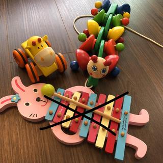 ボーネルンド(BorneLund)のボーネルンド他 木製おもちゃ 3点セット(知育玩具)