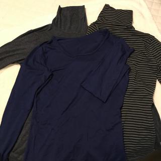 ユニクロ(UNIQLO)のユニクロ ヒートテック 女性用 3枚セット(アンダーシャツ/防寒インナー)