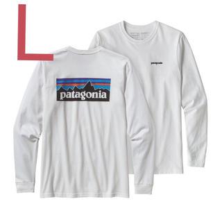 パタゴニア(patagonia)のPatagonia パタゴニア  ロングスリーブ   ロンT  白  ロンT(Tシャツ/カットソー(七分/長袖))
